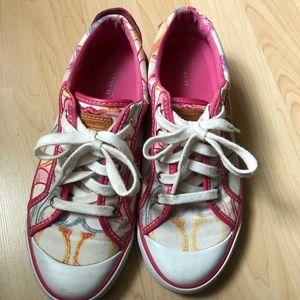 Coach barret poppy sneaker shoes 7.5